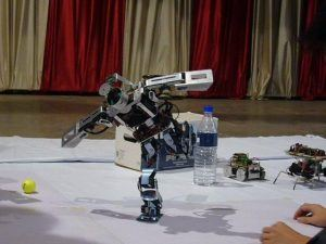 Robotics workshop. Image Source: Wikimedia
