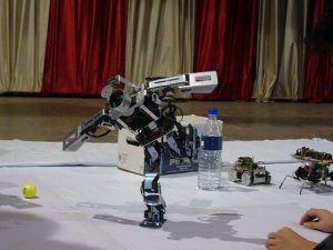 Robotics workshop. Image Source: Wikimedia